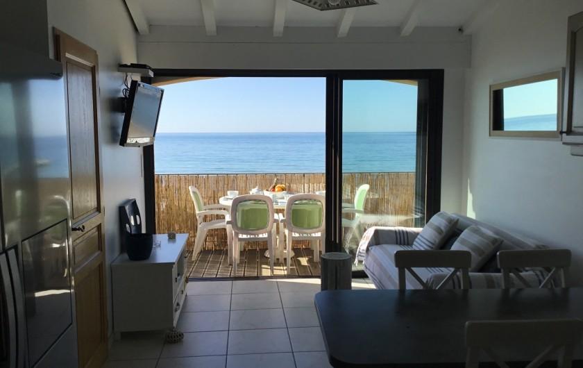 Location de vacances - Appartement à La Croix-Valmer - La vue mer 24h/24h !!