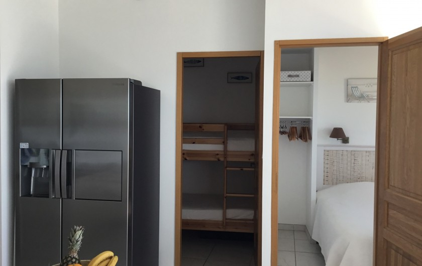 Location de vacances - Appartement à La Croix-Valmer - Deux chambres :