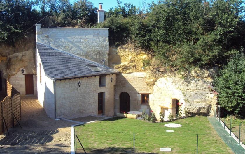 Location de vacances - Gîte à Dénezé-sous-Doué - l'entrée du gîte