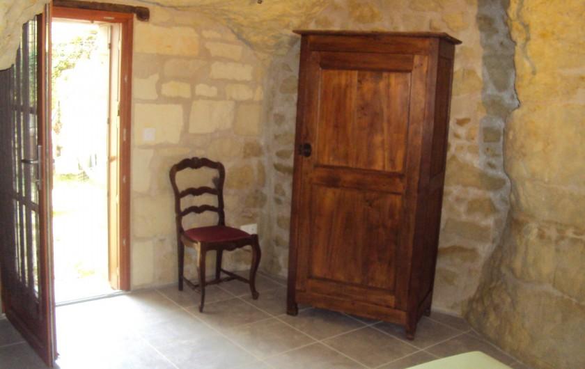 Location de vacances - Gîte à Dénezé-sous-Doué - chambre  N°1