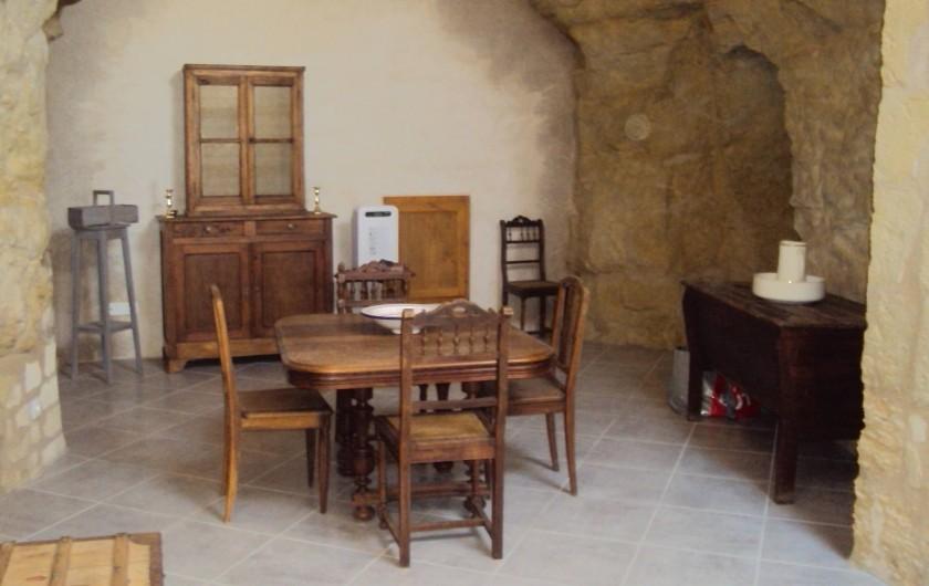 Location de vacances - Gîte à Dénezé-sous-Doué - salle de séjour