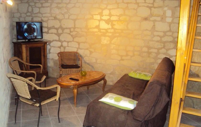 Location de vacances - Gîte à Dénezé-sous-Doué - salon
