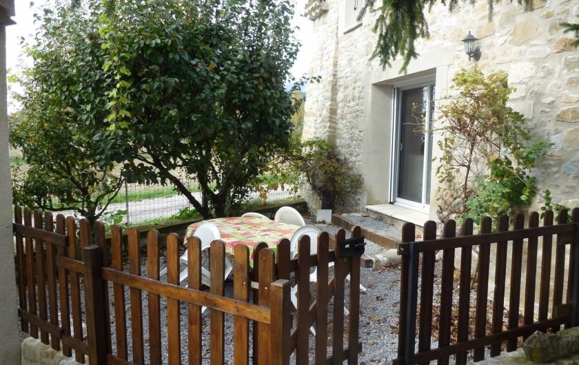 Location de vacances - Gîte à Saou - Gîte du Palloir Terrasse