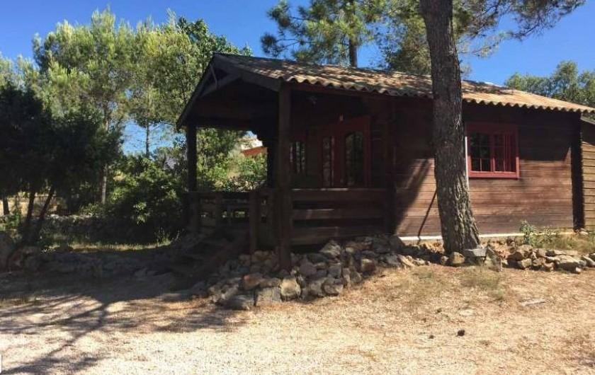 Location de vacances - Chalet à Bras