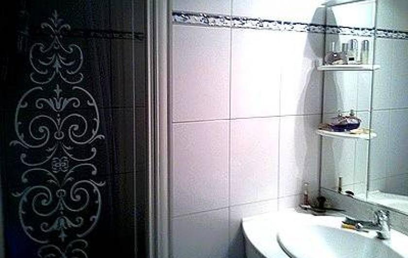 Location de vacances - Appartement à Cerbère - la salle d'eau