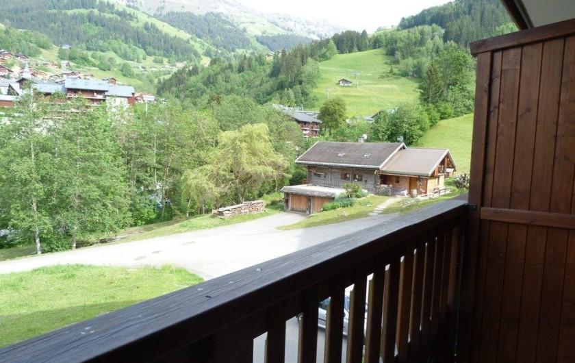 Location de vacances - Appartement à Arêches - Appartement n°2: vue depuis le balcon
