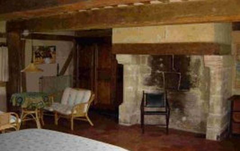 Location de vacances - Gîte à Saint-Georges-en-Auge - Chambre africaine 1
