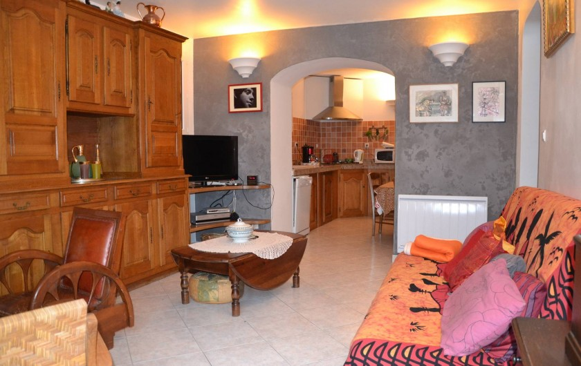 Location de vacances - Appartement à Moltifao - salon