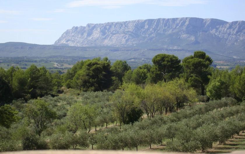 Location de vacances - Chambre d'hôtes à Trets - Coté Sainte Victoire