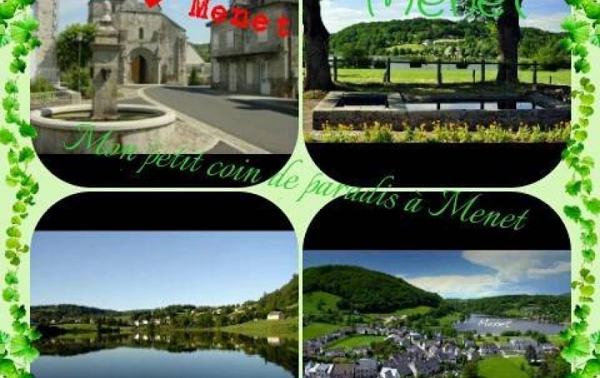 Location de vacances - Chalet à Menet