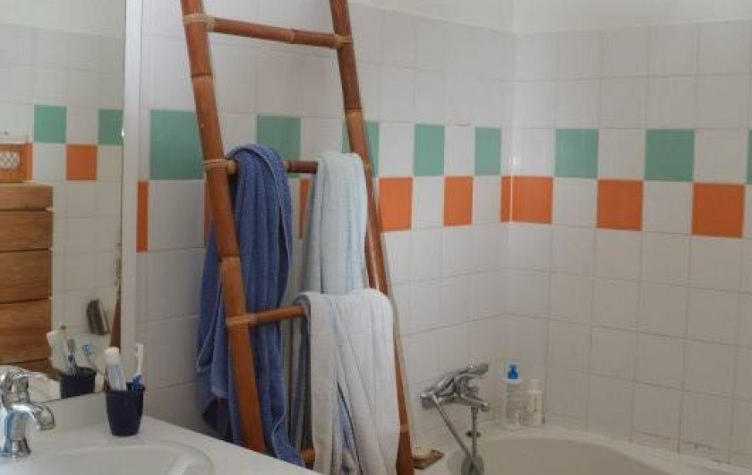 Location de vacances - Maison - Villa à Sainte-Anne - Salle de bain