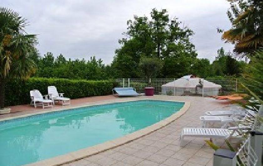 Location de vacances - Yourte à Bazoges-en-Pareds