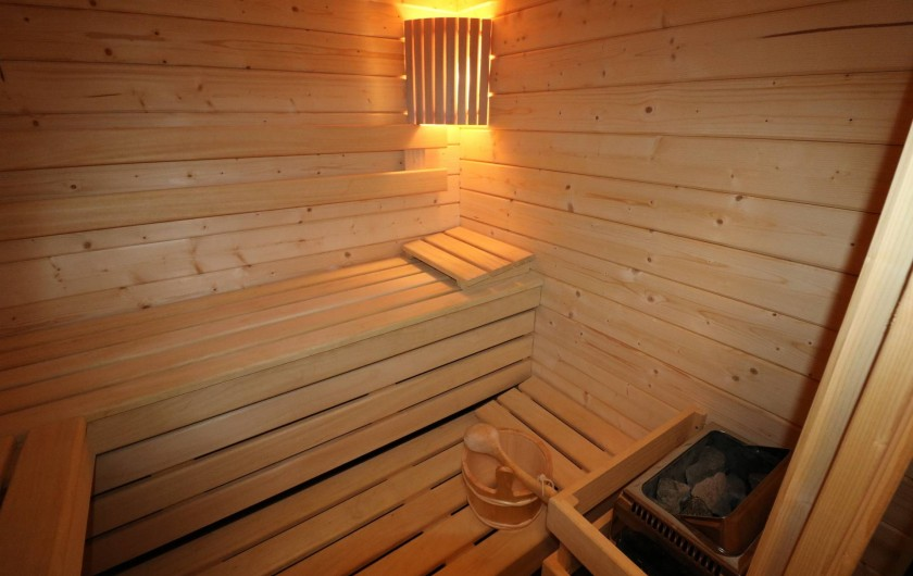 Location de vacances - Studio à Aix-les-Bains - la cabine sauna
