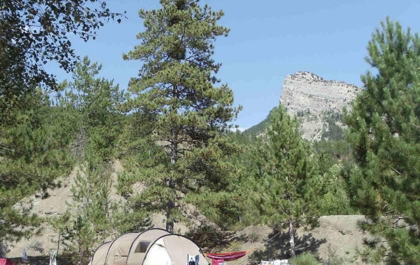 Location de vacances - Camping à Clamensane