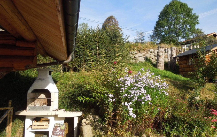 Location de vacances - Chalet à La Bresse - Barbecue