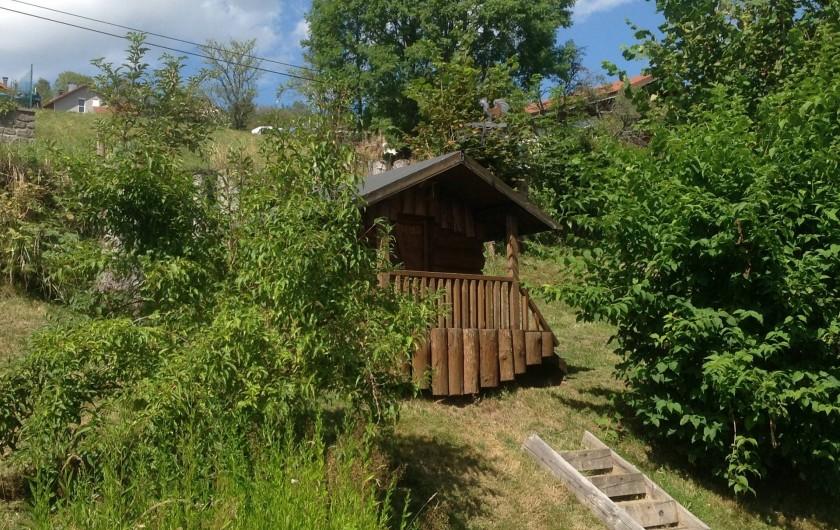 Location de vacances - Chalet à La Bresse - chalet des enfants
