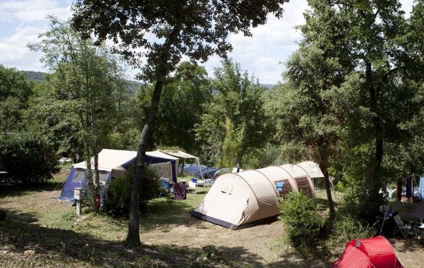 Location de vacances - Camping à La Roque-sur-Cèze
