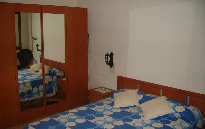 Location de vacances - Villa à L'Ametlla de Mar - Chambre de couple
