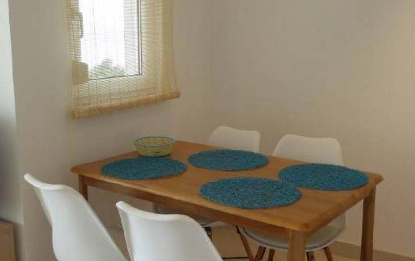 Location de vacances - Appartement à Brela - La salle à manger..