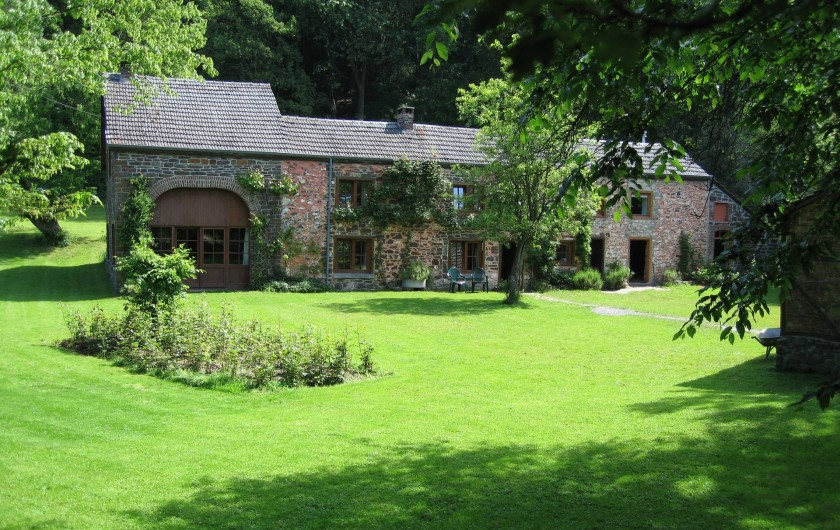 Location de vacances - Villa à Rendeux-Bas - La maison d'habitation.