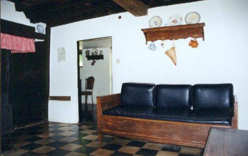 Location de vacances - Villa à Rendeux-Bas - Le petit living.