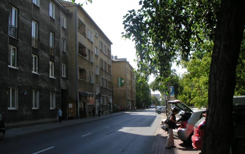 Location de vacances - Appartement à Varsovie - Rue vue opposé