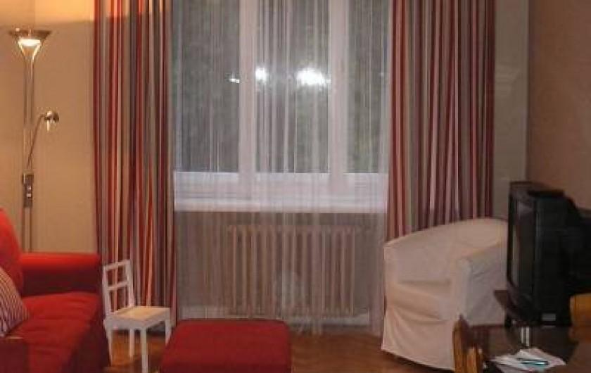Location de vacances - Appartement à Varsovie - Salon
