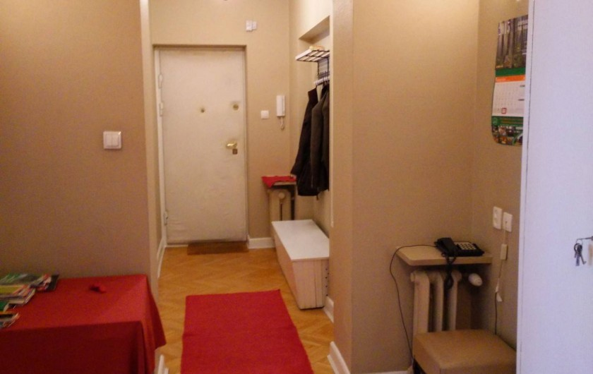 Location de vacances - Appartement à Varsovie - Hall d'entrée