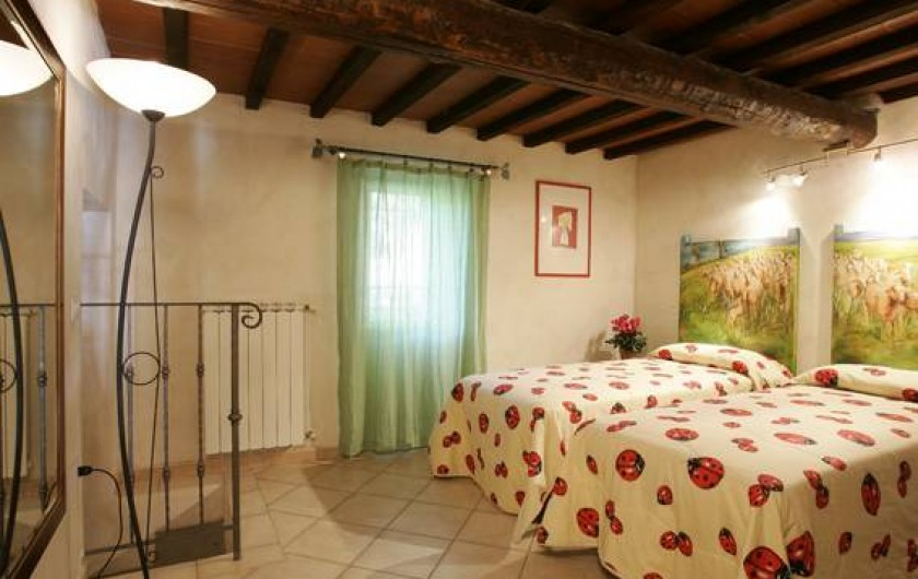 Location de vacances - Villa à Santa Brigida - twin room in Villa Faltignano
