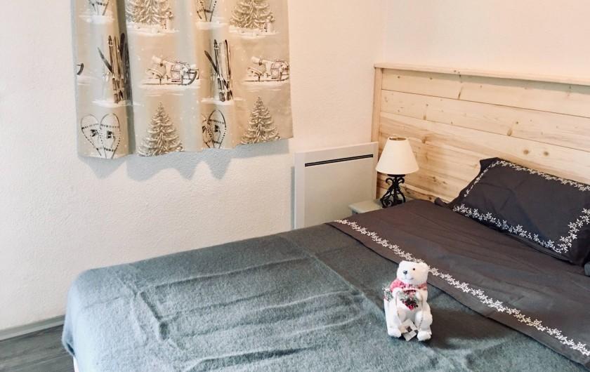 Location de vacances - Appartement à Valmeinier 1800 - Chambre 1