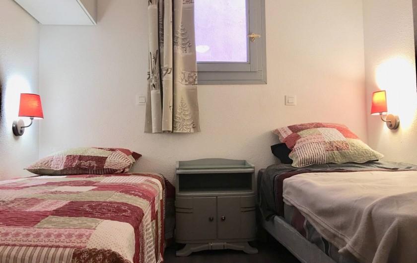 Location de vacances - Appartement à Valmeinier 1800 - Chambre 2