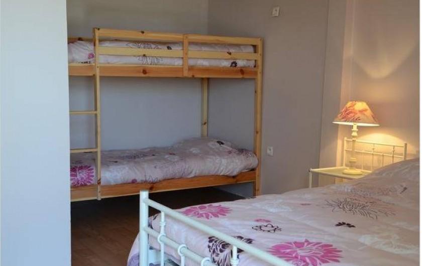 Location de vacances - Maison - Villa à Savigny-Poil-Fol - lits superposés
