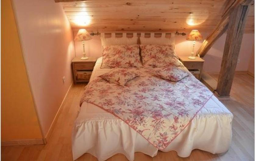 Location de vacances - Maison - Villa à Savigny-Poil-Fol - chambre à l'étage