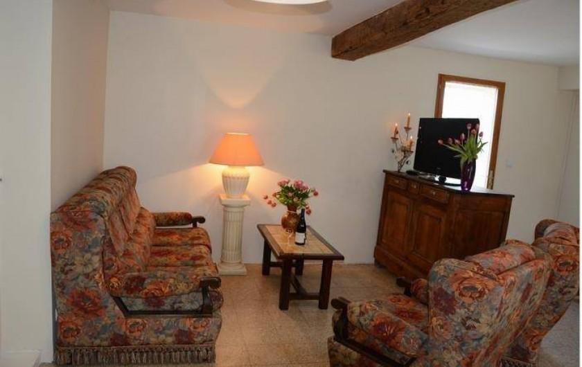 Location de vacances - Maison - Villa à Savigny-Poil-Fol - confortable salon