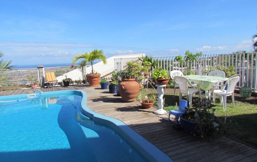 Location de vacances - Villa à Saint-Paul - coin détente