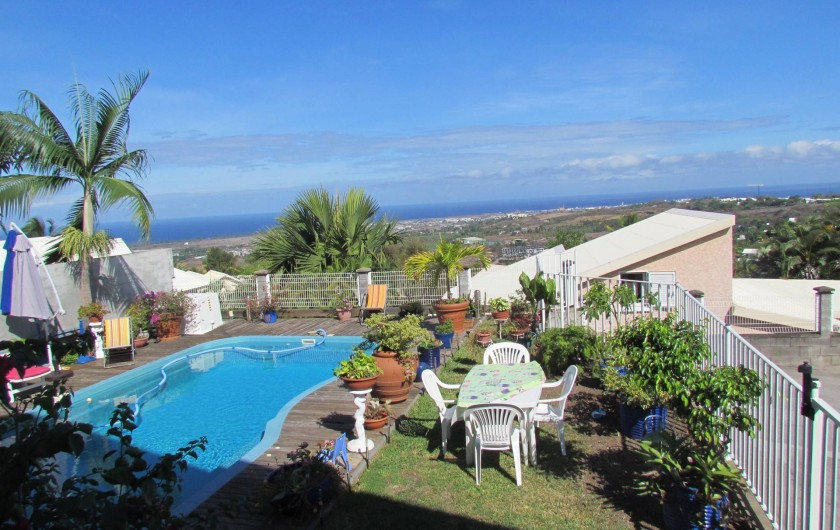 Location de vacances - Villa à Saint-Paul - piscine + jardin