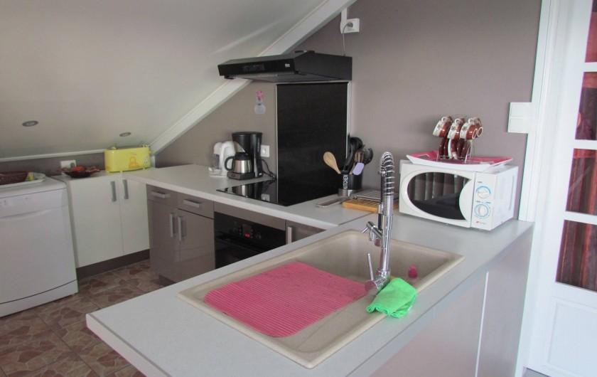 Location de vacances - Villa à Saint-Paul - coin cuisine