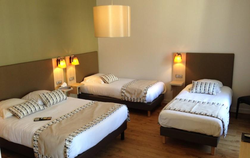Location de vacances - Hôtel - Auberge à Morlaix - Chambre Familiale
