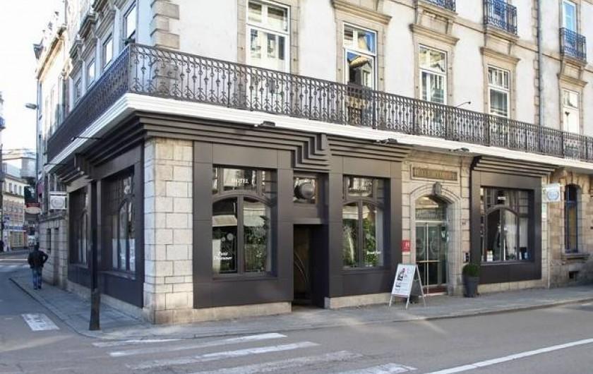 Location de vacances - Hôtel - Auberge à Morlaix - Façade (entrée de l'hôtel)