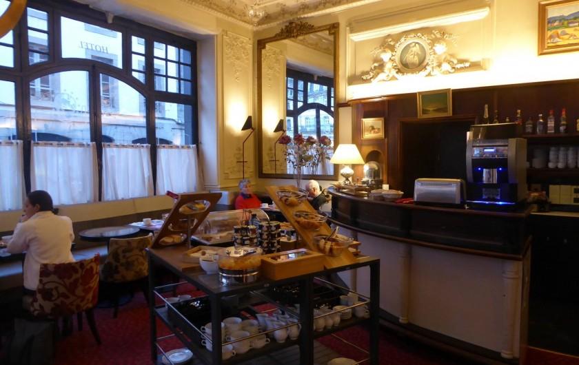 Location de vacances - Hôtel - Auberge à Morlaix - Buffet du petit-déjeuner