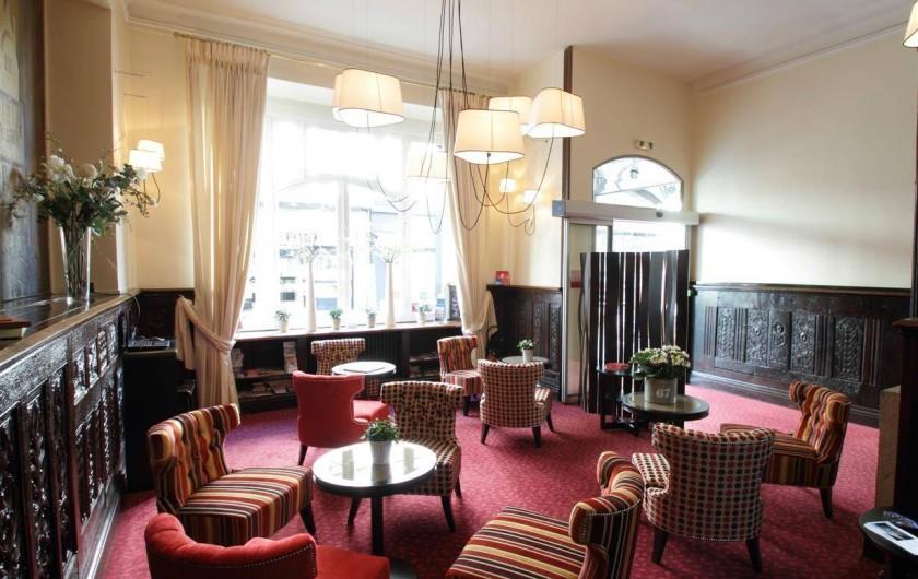 Location de vacances - Hôtel - Auberge à Morlaix - Salon du rez-de-chaussée