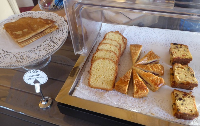Location de vacances - Hôtel - Auberge à Morlaix - Gâteaux artisanaux locaux