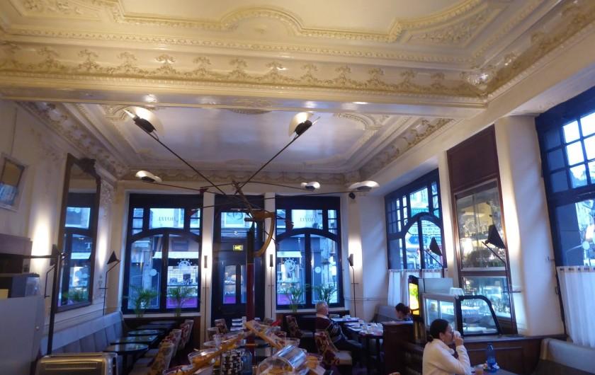 Location de vacances - Hôtel - Auberge à Morlaix - Salle des petits-déjeuners