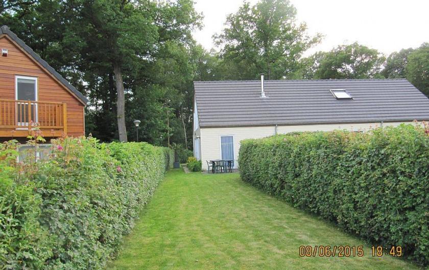 Location de vacances - Bungalow - Mobilhome à Froidchapelle - jardin