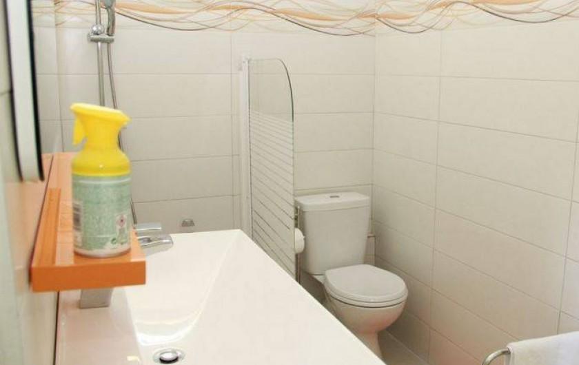 Location de vacances - Bungalow - Mobilhome à Rivière-Salée - Salle de bain