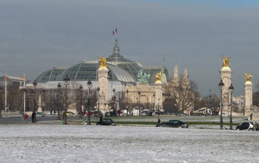 Location de vacances - Appartement à Champs-Élysées - Le Grand Palais et le Pont Alexandre III à 10 mns. à pied de l'appartement
