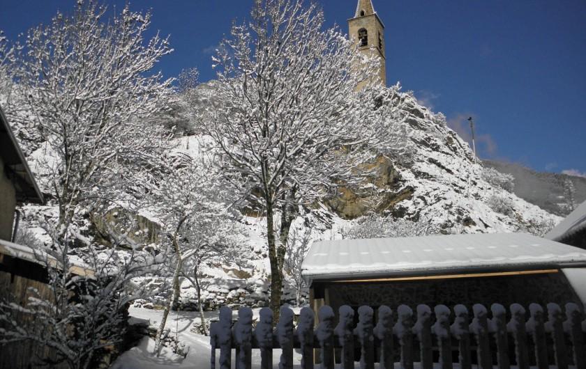 Location de vacances - Gîte à Méolans-Revel - Le cloché de Méolans