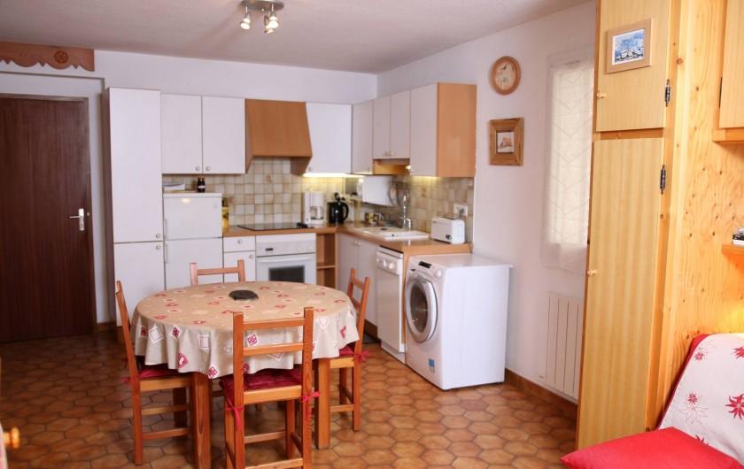 Location de vacances - Villa à Saint-Chaffrey - cuisine americaine