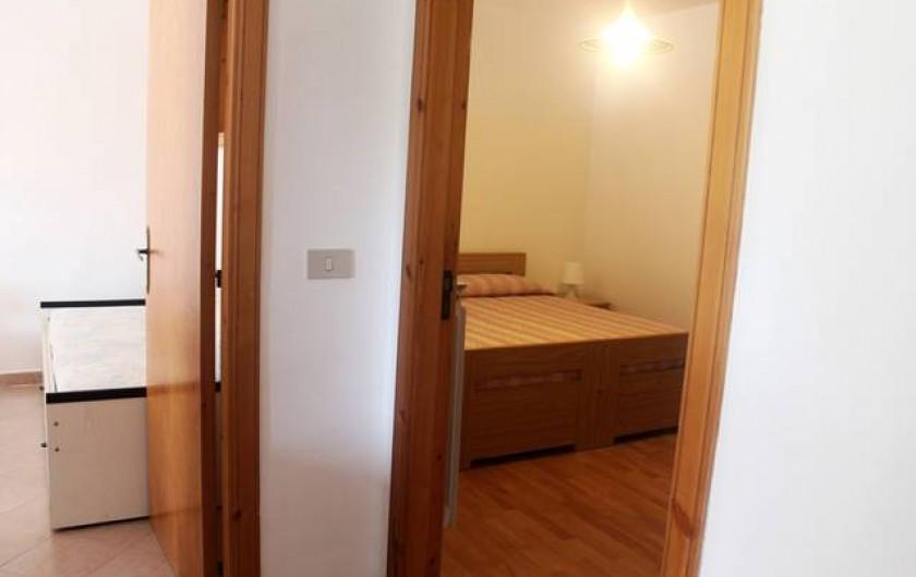 Location de vacances - Appartement à Agropoli - A' droite la chambre matrimonial