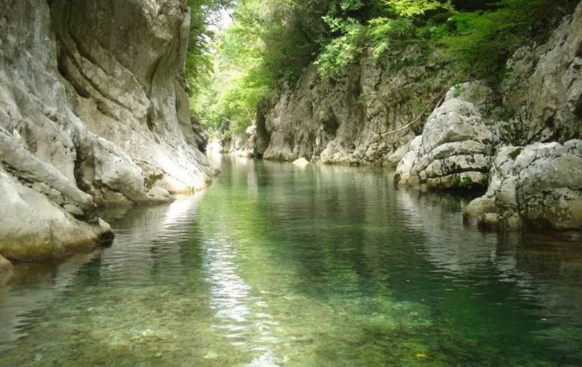 Location de vacances - Appartement à Agropoli - Les gorges de la fleuve Calore dans les montagnes des Alburni